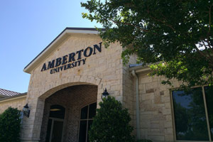 Photo of Amberton University's Frisco Center.